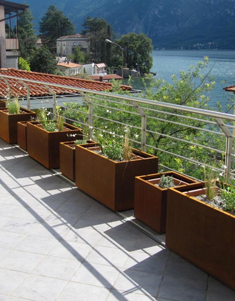 Legno e ferro nel design di giardini - Design giardini ...